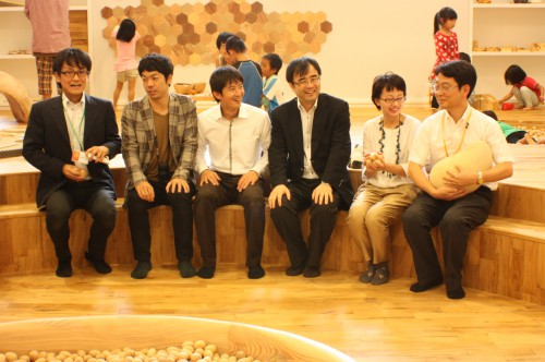 やんばる森のおもちゃ美術館(沖縄県・国頭村)にて